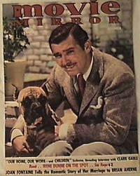 'Clark Gable' from the web at 'http://www.difossombrone.it/curiosita/../images/personaggi/clarkgable.jpg'